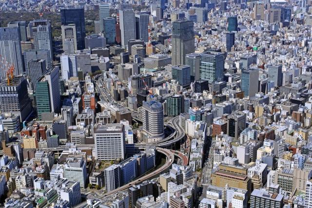大都市の開発行為